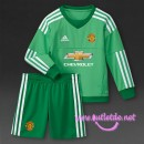 Football Store Maillot gardien but Manchester United enfant 2016 Domicile verte