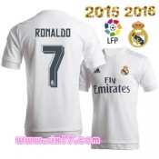 Magasin De Foot Maillot RONALDO Real madrid 2016 Domicile blanc ensemble football