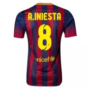 Magasin Maillot foot Barcelone FC A.INIESTA 8 Domici