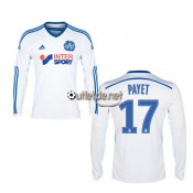 Maillot 2014 om Payet Domicile blanc manches longues