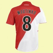 Maillot AS Monaco Moutinho 8 2014 domicibonne qualité
