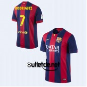Maillot Barcelone football 14/15 Rodriguez Domicile Rouge/bleu