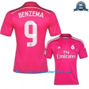 Maillot Benzema Real Madrid 2014 2015 extérieur