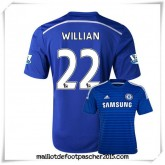 Maillot Chelsea Willian #22 2014 2015 Domicile