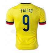 Maillot De Foot Colombie Domicile 2015/2016 (9 Falcao) Joune