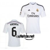 Maillot De Foot Real de madrid Khedira Domicile blanc