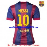 Maillot Foot BarceloneMessi Femme 2014 2015 Domici