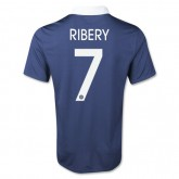 Maillot Foot de Coupe du Monde France (RIBERY #7) Domici