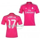 Maillot Real madrid boutique 2015 Arbeloa Extérieur Rose