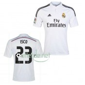 Maillot Real madrid noir Isco Domicile blanc