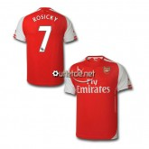 Maillot d Arsenal Rosicky Domicile Rouge