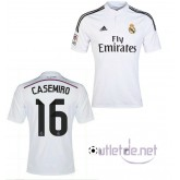 Maillot du Real madrid Casemiro Domicile blanc
