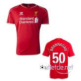 Maillot liverpool FC boutique 2014 2015 Brannagan Domicile Rouge