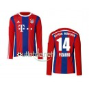 Maillots Bayern munich 2014 Pizarro Domicile Rouge manches longues