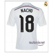 Nacho Real Madrid Maillot 2014 2015 Domicile