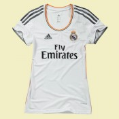 Nouveaux Maillot Football Real madrid femmes Domici