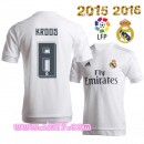 Site officiel pour acheter Maillot KROOS Real madrid 2016 Domicile col rond magasin foot