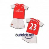 Tee shirt Arsenal 2015 enfant Bendtner Domicile Rouge