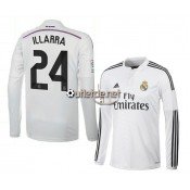 Achat Maillot Real madrid 2014 Illarra Domicile blanc manches longues