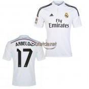 Acheter Maillot Real madrid 14/15 Arbeloa Domicile blanc