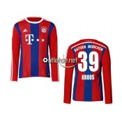 Bayern 2014 Maillot Kroos Domicile Rouge manches longues