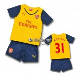 Boutique Maillot Arsenal france 2014 2015 juNior Miyaichi Extérieur blanc