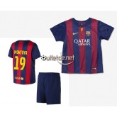 Boutique Maillot de Barcelone 2015 juNior Afellay Domicile Rouge/bleu