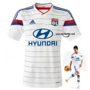 Collection Maillot Lyon 14/15 Domicile blanc