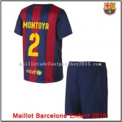 Fc Barcelone Maillot Foot foot Montoya juNior 2015 Domiciprix
