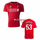 Liverpool Maillot Teixeira Domicile Rouge