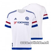 Magasin De Foot Maillot Chelsea exterieur 2015 2016 blanc Site officiel foot