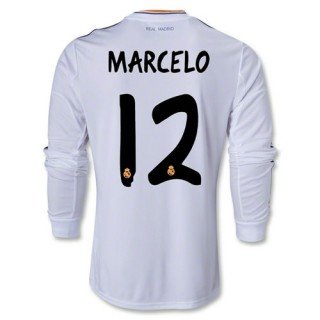 Magasin de Maillot Foot Real Madrid FC MARCELO 12 Manche longue Domici
