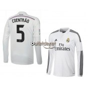 Maillot 2014 Real madrid Coentrao Domicile blanc manches longues
