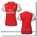 Maillot Arsenal femme 2014 2015 Rouge Domicie