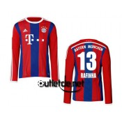 Maillot Bayern munich 2014 2015 Rafinha Domicile Rouge manches longues