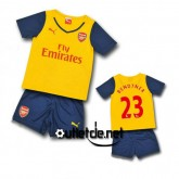 Maillot De Foot Arsenal 2014 2015 juNior Bendtner Extérieur blanc