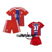 Maillot De Foot Bayern munich 14/15 juNior Green Domicile Rouge