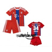 Maillot De Foot du Bayern juNior Hojbjerg Domicile Rouge