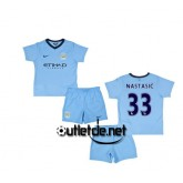 Maillot De Foot manchester city 2014 juNior Nastasic Domicile bleu