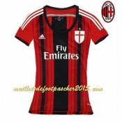 Maillot Foot AC Milan femme 2014 2015 Domici