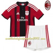 Maillot Foot AC Milan juNior 2014 2015 Domici