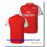 Maillot Foot Arsenal 2014 2015 DomiciRouge
