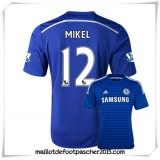 Maillot Foot Chelsea 2014 2015 DomiciMikel #12