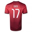 Maillot Foot Coupe du Monde Portugal NANI 17 Domici