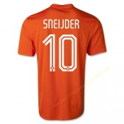 Maillot Foot Coupe du Monde SNEIJDER 10 Pays-Bas Domici