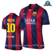 Maillot Foot Messi Barcelone 2014 2015 Domicile