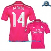 Maillot Foot Real Madrid Alonso 2014 2015 extérieur