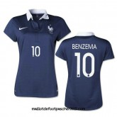 Maillot Foot femme BENZEMA france coupe du monde 2014 Domici