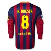 Maillot Football Barcelone FC A.INIESTA 8 Manche longue Domici