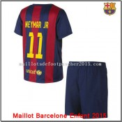 Maillot Football Barcelone Neymar JR Enfant 2014 2015 Domicipromo